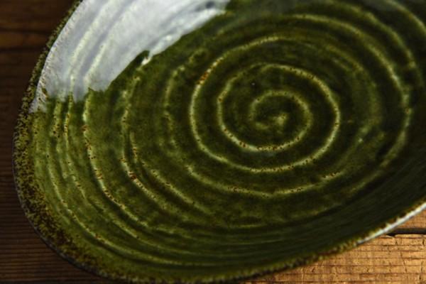 噂の織部のカレー皿