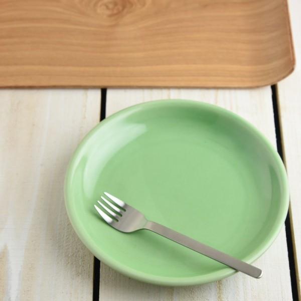 サイドストリート グリーン パン皿