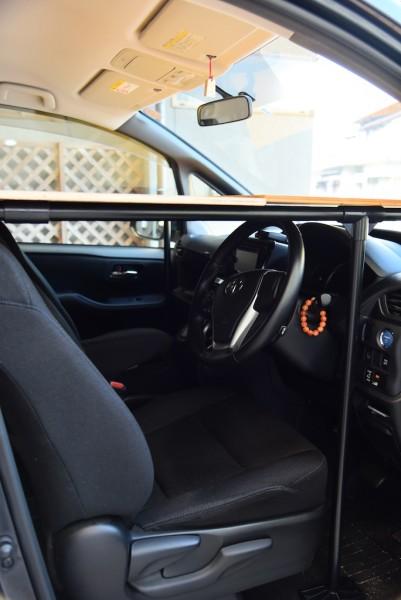 運転席のスペース