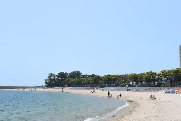 きれいな砂浜です