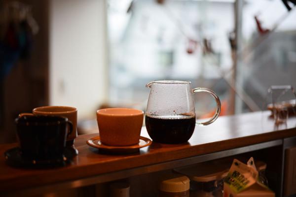 コーヒーできました