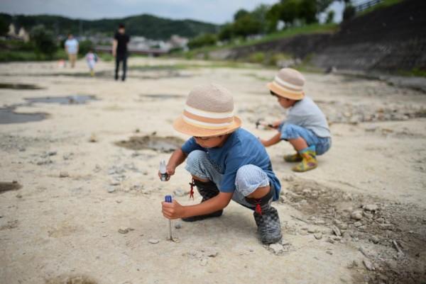 化石ほじくり隊