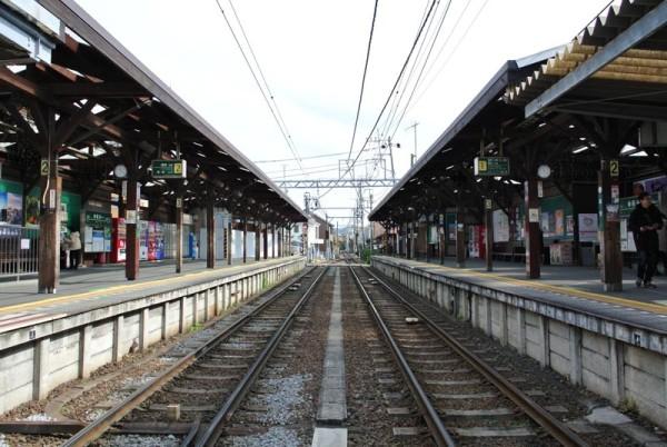 こちらは鎌倉大仏のそばの長谷駅