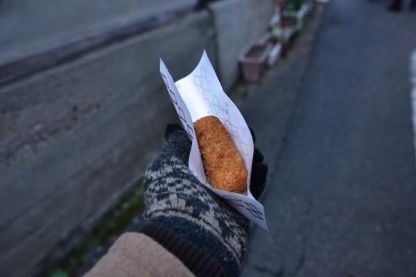 あづま精肉店の俵コロッケ