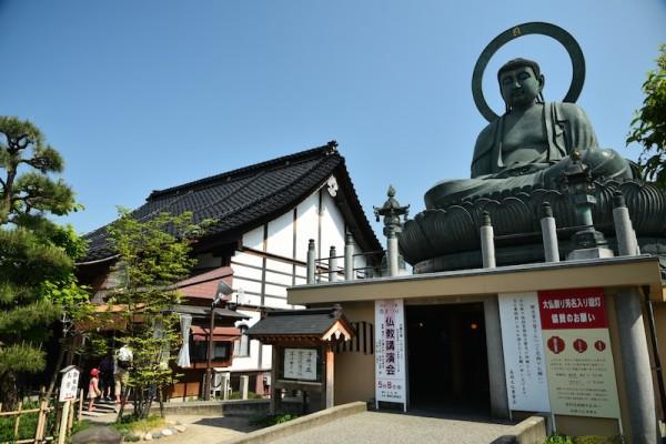 高岡大仏と寺