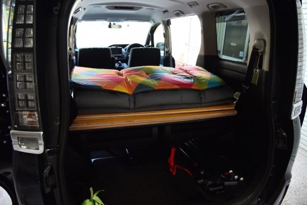 車中泊ベッド 積載時