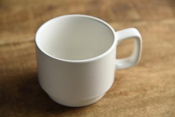オフホワイト スタッキングマグカップ