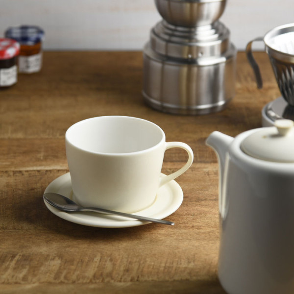 miyama. bico コーヒーカップ&ソーサー バニラホワイト