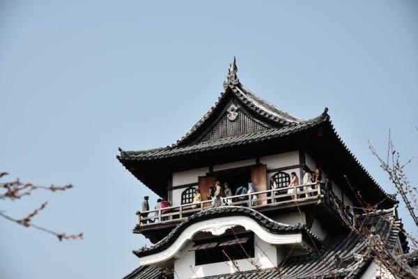 犬山城の天守閣