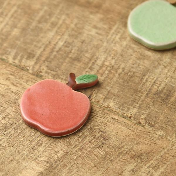 りんご 箸置き 赤リンゴ