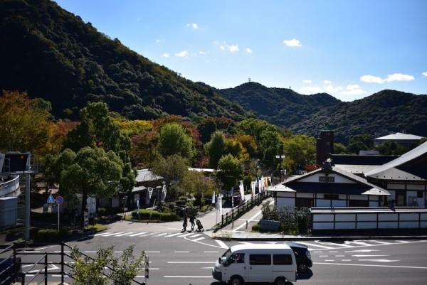 岐阜公園を眺める(たぶん)