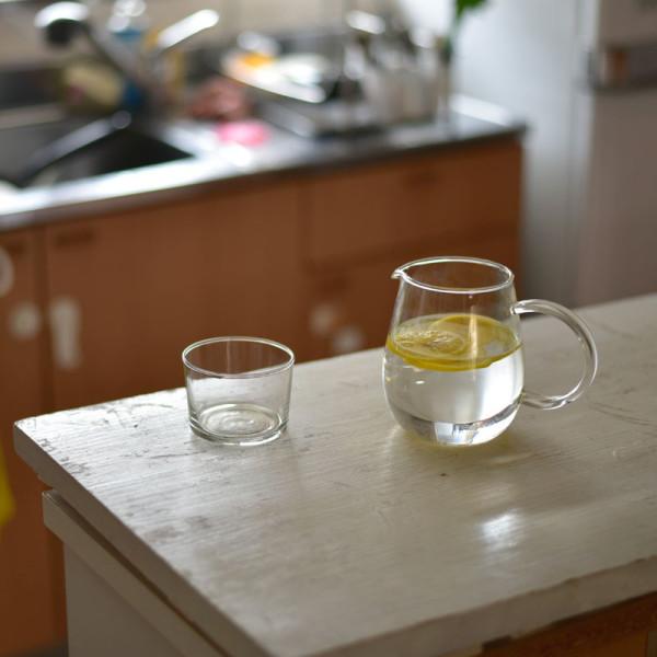このレモン水は味が薄かった