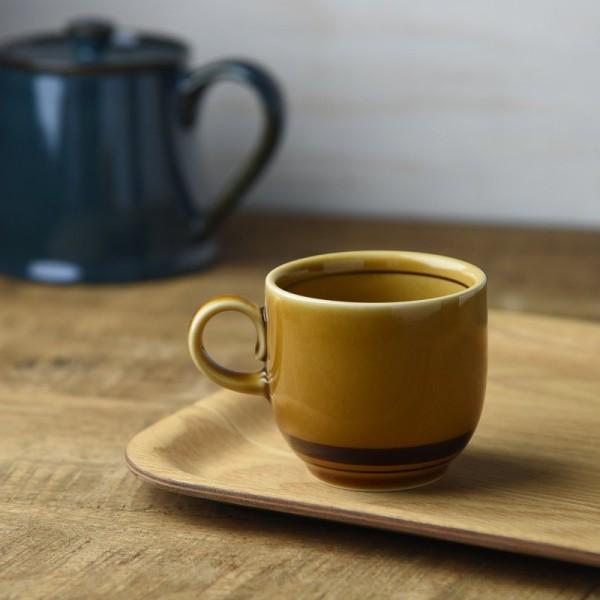 アメボーダー コーヒー碗(コーヒーカップ/マグカップ)(高さ6.4cm)