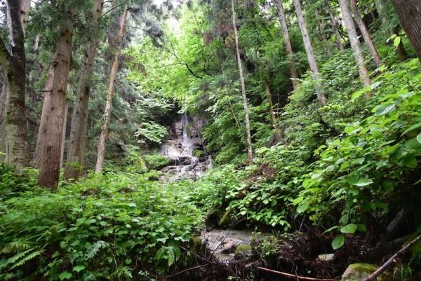 串原町の滝