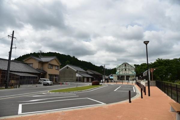 こちら明知鉄道山岡駅