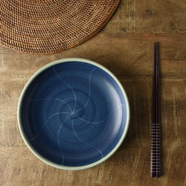 18.1cm青うず潮取り皿