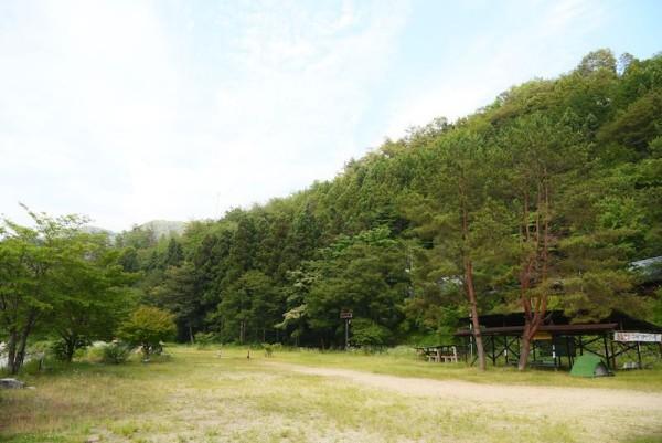 こちらが和知野川キャンプ場