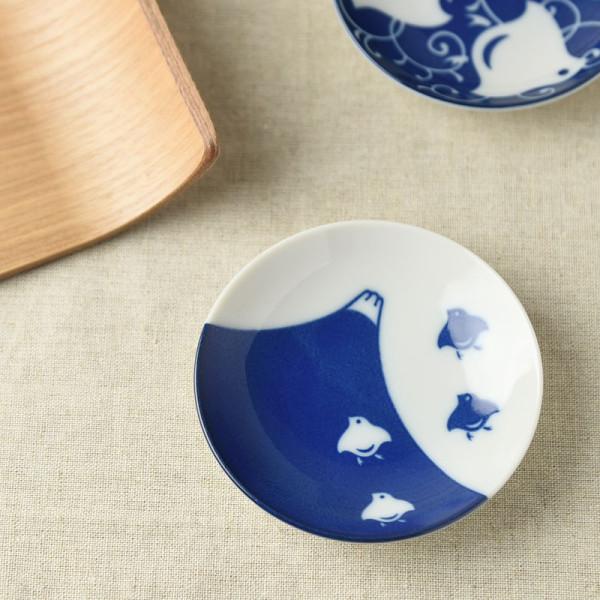 千鳥づくし 富士千鳥 9.5cm豆皿