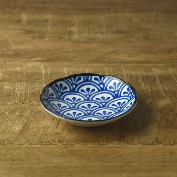 和ごころ 11.5cm豆皿 青海波
