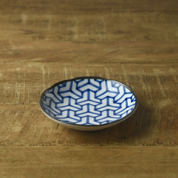 和ごころ 11.5cm豆皿 組亀甲