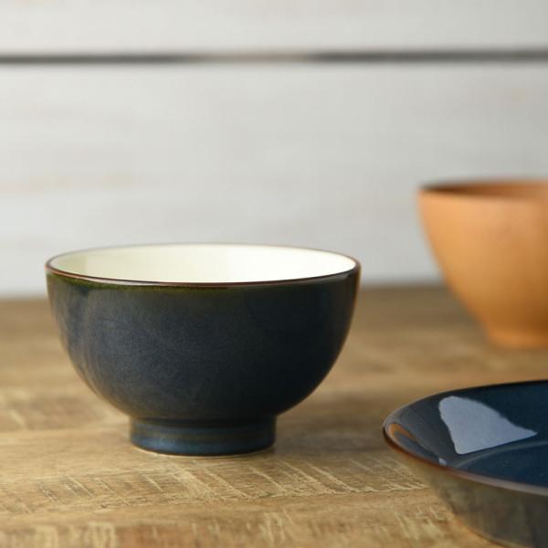 北欧ブルー ご飯茶碗