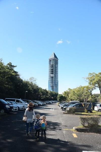 東山スカイタワーのところから行きます