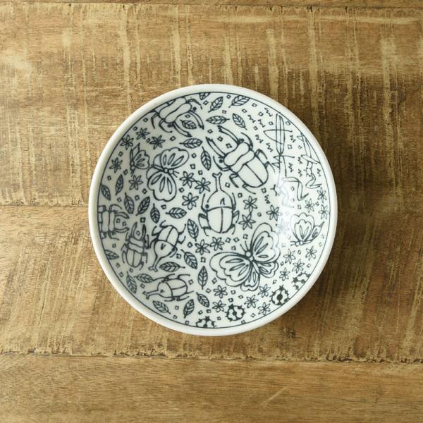 いきものずかん 13.8cm深皿 もりのなかま