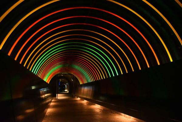 おしゃれなトンネル