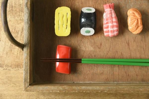 お寿司箸置き軍団