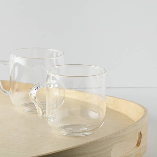 10.3cm耐熱ガラス ティーカップ