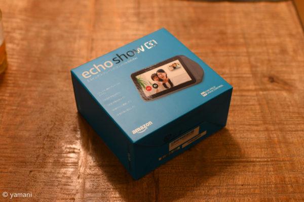 Echo Show 5の箱