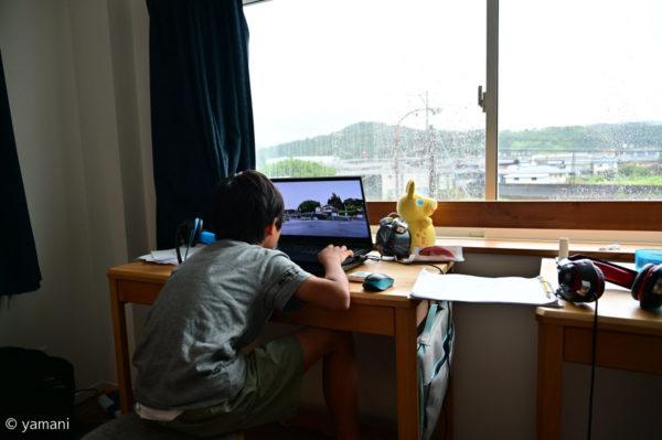 夏休みの自由研究 動画編集