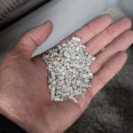 リサイクル陶土の原料